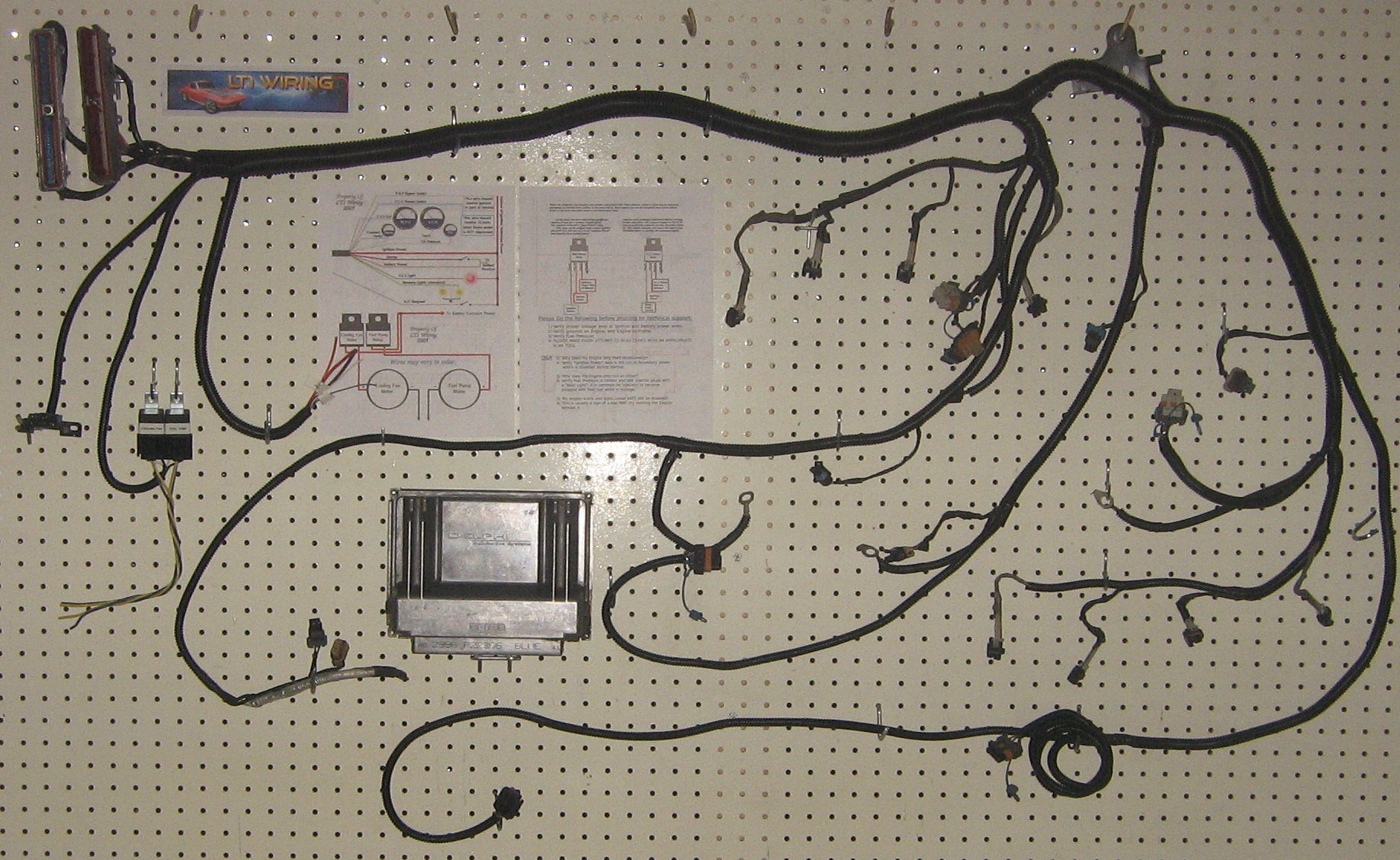Lt1 Wiring Conversion Start Building A Diagram Engine Swap Harness Ls And Pcm Stand Alone Modification Ebay Rh Com
